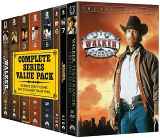 Walker, Texas Ranger The Complete Series (DVD, 2010, 51 Disc Set)