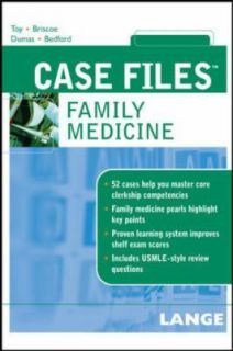 Case Files Family Medicine by Joe A. Bedford, Eugene C. Toy, Donald
