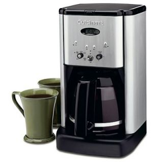 Cuisinart DCC 1400 Brushed Stainless Steel Finish 10 Cups Coffee Maker