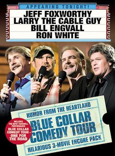The Blue Collar Comedy Tour   3 Pack DVD, 2006, 3 Disc Set