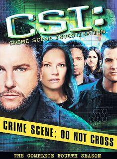 CSI Crime Scene Investigation   The Complete Fourth Season DVD, 2004