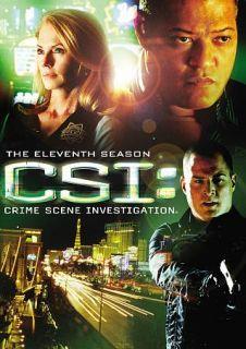 CSI Crime Scene Investigation   The Eleventh Season DVD, 2011, 6 Disc