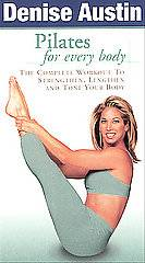 Denise Austin   Pilates for Every Body VHS, 2002