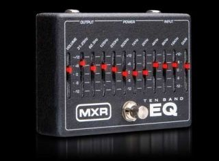Dunlop MXR 10 Band EQ M108 Equalizer Guitar Effect Pedal