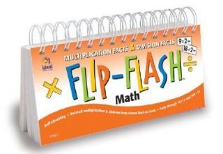 Flip Flash Math Multiplication and Division Facts Horizontal by Carson