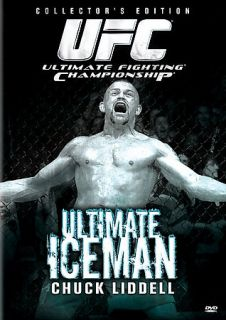 UFC Presents The Ultimate Iceman   Chuck Liddell DVD, 2006, Rental