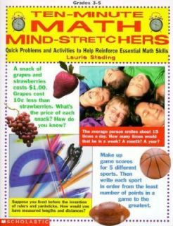 10 Minute Math Mind Stretchers Quick Problems and Activities to Help