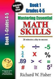 Mastering Essential Math Skills 20 Minutes a Day to Success Book One