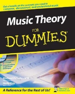 Music Theory for Dummies by Michael Pilhofer and Holly Day 2007