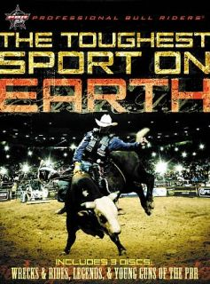 Professional Bull Riders The Toughest Sport on Earth DVD, 2009, 3 Disc
