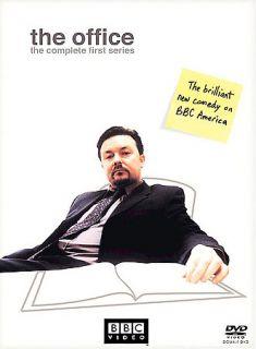 The Office The Complete First Series DVD, 2003, 2 Disc Set, Digi Pack
