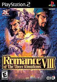 Romance of the Three Kingdoms VIII Sony PlayStation 2, 2003