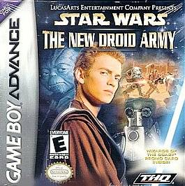 Star Wars The New Droid Army Nintendo Game Boy Advance, 2002