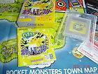 YELLOW POKEMON POCKET MONSTERS~COMPLETE+MAP~GAME BOY GB/COLOR/ADVANCE