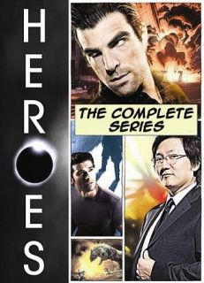 Heroes The Complete Series DVD, 2010, 24 Disc Set