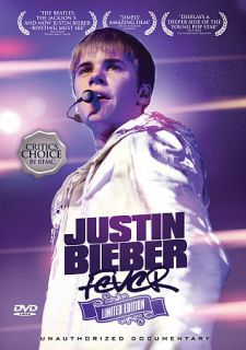 justin bieber fever dvd 2011 limited edit $ 8 71