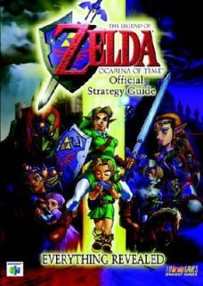 The Legend of Zelda Ocarina of Time Official Strategy Guide by Brady