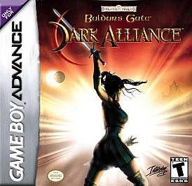 Baldurs Gate Dark Alliance Nintendo Game Boy Advance, 2004