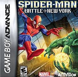 Spider Man Battle for New York Nintendo Game Boy Advance, 2006