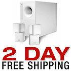 NEW BOSE ACOUSTIMASS 5 SERIES III SPEAKER SYSTEM WHITE