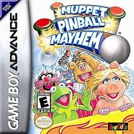 Muppet Pinball Mayhem Nintendo Game Boy Advance, 2002