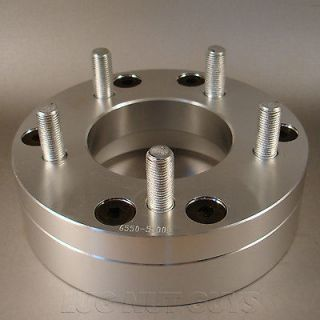 WHEEL ADAPTERS 6x5.5 to 5x5   5x127 2 THICK SPACERS 6 LUG to 5 LUG