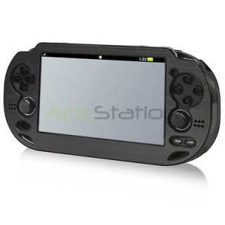 Black Aluminum Metal Hard Case Cover For Sony PS Playstation Vita