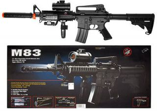 M83 M4 M16 Airsoft Electric Assault Rifle M4A1 AEG Semi/Full Auto