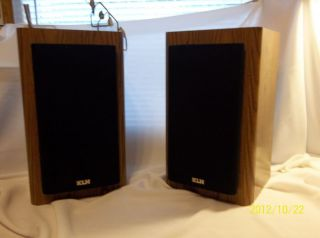 KLH Bookshelf speakers Model AV 2000