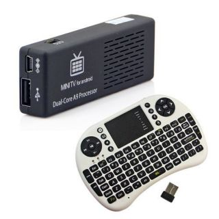 Dual Core MK808 8GB Cortex A9 Android4.1 Mini PC WIFI TV IPTV BOX +2