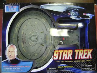Star Trek Starship Legends TNG Ship USS Enterprise NCC 1701D