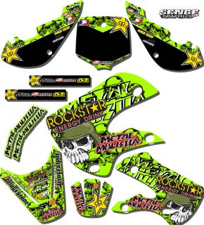 ALL YEARS KX 65 GRAPHICS KIT KAWASAKI KX65 DECO DECALS STICKERS