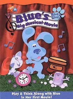 Blues Clues   Blues Big Musical Movie (DVD, 2000, Sensormatic) KIDS