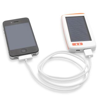 Portable Solar Light with Charger   iPhone, iPod & Mobile Device Power