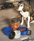 in 1 Pet Food Tote Travel Container Dog or Cat Food and Water Easy