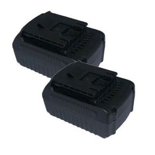 Two Power Tools Battery 18V for Bosch BAT609, BAT618