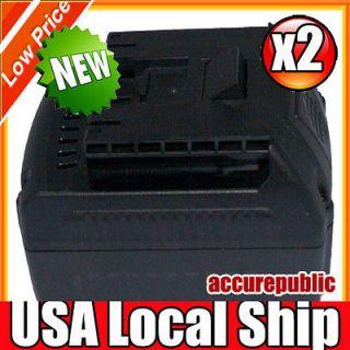 2x 18V Power Tools Battery for BOSCH BAT618G 2.8AH 18volt NEW