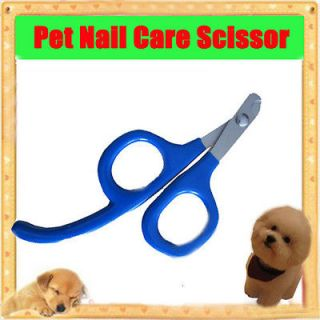 Pet Dog Cat Nail Care Cutter Scissor Clipper Claw Grooming Trimmer