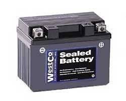 Exide Powerware 4L BS Replacement Battery 12VX4L B Westco Battery