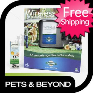 ELECTRIC DOG PET FENCE PETSAFE PIF300 WIRELESS PET CONTAINMENT SYSTEM
