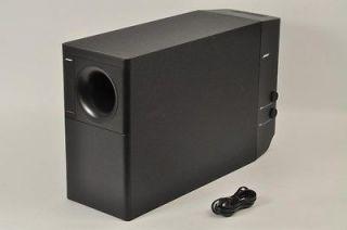 BOSE Black Powered Acoustimass 25 Speaker System Subwoofer 8 Pin Din