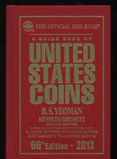 2013 RED BOOK UNITED STATES COINS HARD COVER