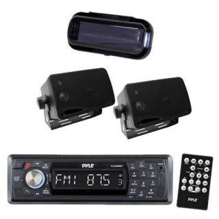 New Marine Yacht Indash Media Player & Wireless Bluetooth 2 Box