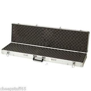 Classic Safari 44 Long Aluminum Gun Rifle Case Lock Box / Gun Storage