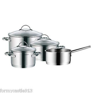 WMF Provence Plus 7 Piece 18/10 Stainless Cookware Set