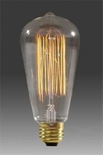 60w EDISON histric antique style filament light BULB