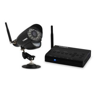 Live Digital AV Wireless Security Camera Night Vision SD DVR SYSTEM