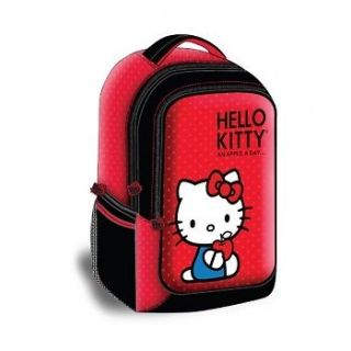 Hello Kitty Backpack Style Laptop Case  Red