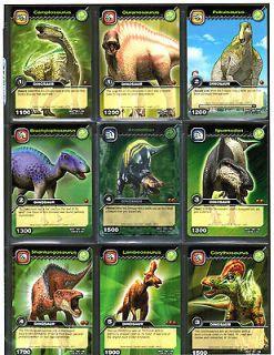 DINOSAUR KING UD TCG Card DKCG Page of 9 [GRASS][DINO Anatotitan] 1