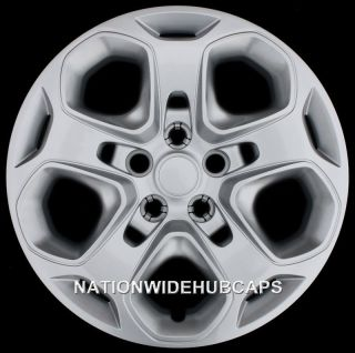 FUSION 17 Bolt On Wheel Covers Rim Hub Caps 5 Spoke Steel Wheels Rims